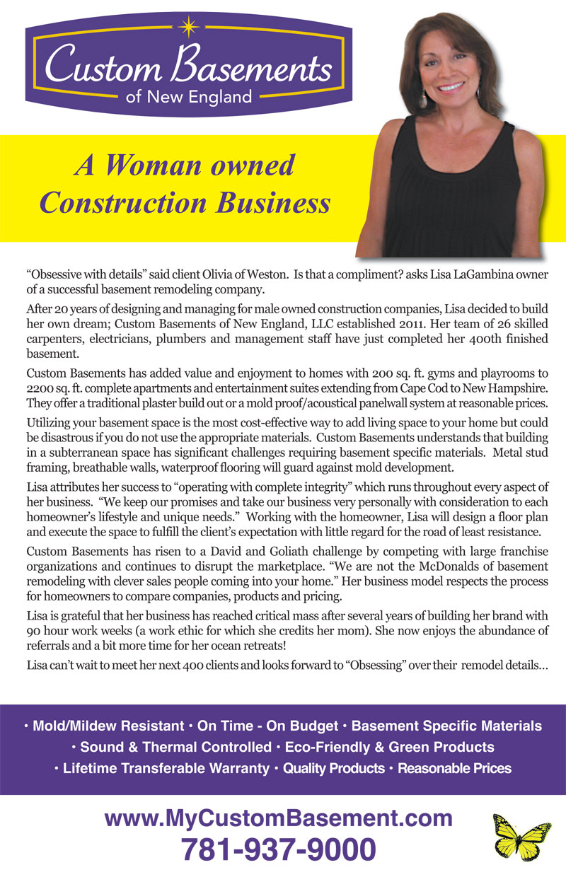 Woman owned Construction Business
